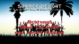 Party Flyer Atisha: Summer Delight (TranceDance Special) 22 Jun '18, 22:00