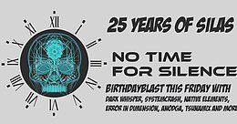 Party Flyer NTFS Masterblast ; 25 years of Silas 22 Jun '18, 22:00