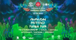 Party Flyer TREEBAL & ZION: GARDEN STAGE - TBILISI OPEN AIR FESTIVAL 2018 22 Jun '18, 23:30