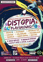 Party Flyer Distopia Playground #1 23 Jun '18, 18:00