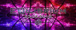 Party Flyer ๑ EQilibrium GOA ๑ 23 Jun '18, 22:00