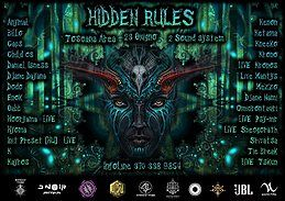 Party Flyer Hidden Rules 23 Jun '18, 22:00
