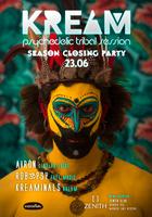 Party Flyer KREAM Season Closing 23 Jun '18, 23:30