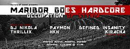 Party Flyer Maribor goes Hardcore - Occupation of Styria 23 Jun '18, 22:00