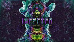 Party Flyer Teaser Infected Festival (Luxembourg) 23 Jun '18, 22:00