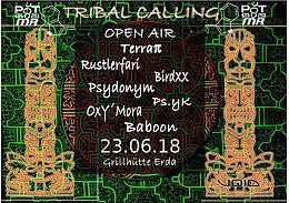 Tribal Calling (Open Air) 23 Jun '18, 19:00