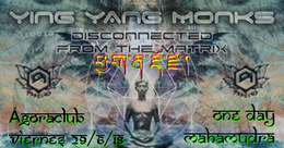 Party Flyer Disconnected From the Matrix 29 Jun '18, 23:30