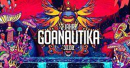 Party Flyer 2 Jahre Goanautika 30 Jun '18, 23:00
