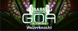 Party Flyer Bassproduction Goa Party 30 Jun '18, 22:00