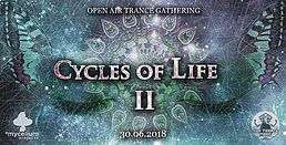 Party Flyer Cycles Of Life II - Open Air with Etnica / Tromesa / Mindfield 30 Jun '18, 10:00