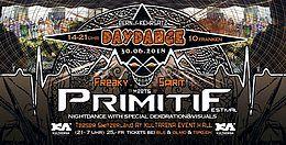 Party Flyer Freaky Spirit meets Primitif Festival (OpenAir DayDance) 30 Jun '18, 13:30