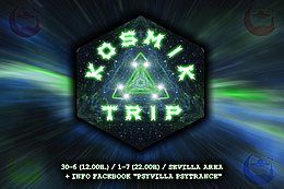 Party Flyer KOSMIK TRIP 30 Jun '18, 12:00