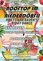 Party Flyer ROOFTOP IM NIEDERDÖRFLI 30 Jun '18, 14:00