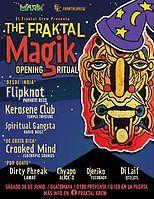 Party Flyer The Fraktal Magik 30 Jun '18, 20:00