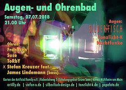 Party Flyer Augen- und Ohrenbad 7 Jul '18, 21:00