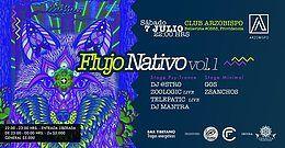 Party Flyer Flujo Nativo - Psytrance & Electrónica Alternativa 7 Jul '18, 22:00