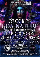 Party Flyer ૐ Goa Nature ૐ Beautiful Summer Experience 7 Jul '18, 09:00