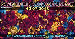 Party Flyer ॐ Psychedelic Oldschool Night ॐ 12 Jul '18, 21:00