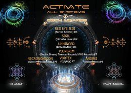 Party Flyer Activate all Systems 13 Jul '18, 18:00