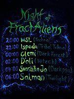 Party Flyer FractAlien Invasion 13 Jul '18, 20:00