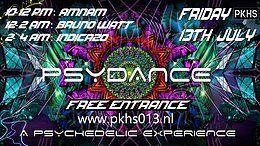 Party Flyer PsyDance - Free Entrance 13 Jul '18, 22:00