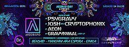 Party Flyer AEON B-DAY 14 Jul '18, 23:00