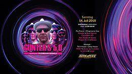 Party Flyer Günter`s 5.0 Day & Night Dance 14 Jul '18, 15:00