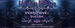 Party Flyer Illusiom PsyTrance Adventure 14 Jul '18, 23:00