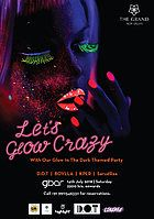 Party Flyer Lets Glow Crazy 14 Jul '18, 22:00