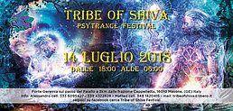 Party Flyer Tribe of Shiva 14 Jul '18, 18:00