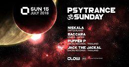 Party Flyer PsyTrance ॐ Sunday at GLOW 15 Jul '18, 21:30