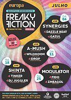 Party Flyer FREAKY FICTION 18 Jul '18, 23:00