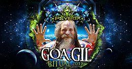 Party Flyer Psybox - Goa GIl Ritual 2018 20 Jul '18, 22:00