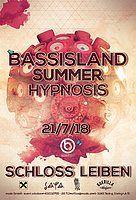 Party Flyer Bass Island Summer Hypnosis 2018 21 Jul '18, 21:30