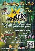 Party Flyer DayDance Proggi Goa 21 Jul '18, 15:00