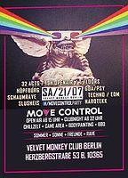 Party Flyer Move Control OpenAir 2 mit Hüpfburg & SchaumFloor + Clubnight 21 Jul '18, 15:00