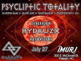Party Flyer Psycliptic Totality 27 Jul '18, 22:30