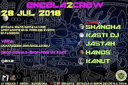 Party Flyer ENCELA2CREW PRESENTS: 28 Jul '18, 23:30
