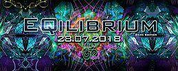 Party Flyer ๑ EQilibrium GOA (Dark Edition) ๑ 28 Jul '18, 22:00