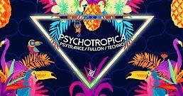 Party Flyer Psychotropica Prog/Psytrance & Techno / 5€ bis 0Uhr 28 Jul '18, 23:00