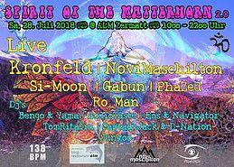 Party Flyer ॐ Spirit of the Matterhorn 2.0 ॐ 28 Jul '18, 10:00