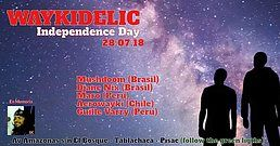 Party Flyer Waykidelic: independence day 28 Jul '18, 21:00