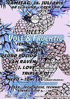 Party Flyer Zum Treffpunkt im Zouk meets VOLL & FRUCHTIG 28 Jul '18, 22:00