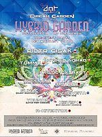 Party Flyer Hybrid Garden Pre-Party DMT Project & Dream Garden 3 Aug '18, 12:00