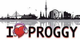 Party Flyer I Love Proggy 3 Aug '18, 23:00