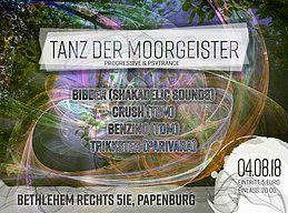 Party Flyer Tanz der Moorgeister 4 Aug '18, 20:00