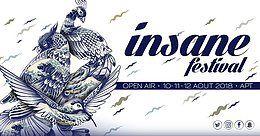 Party Flyer Insane Festival 2018 10 Aug '18, 12:00