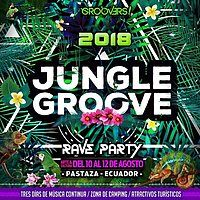 Party Flyer Jungle Groove 6th edition 10 Aug '18, 12:00
