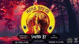 Party Flyer Purple Sunrise 12H of madness 11 Aug '18, 22:00