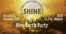 Party Flyer SHINE: NEW EARTH PARTY 11 Aug '18, 15:00